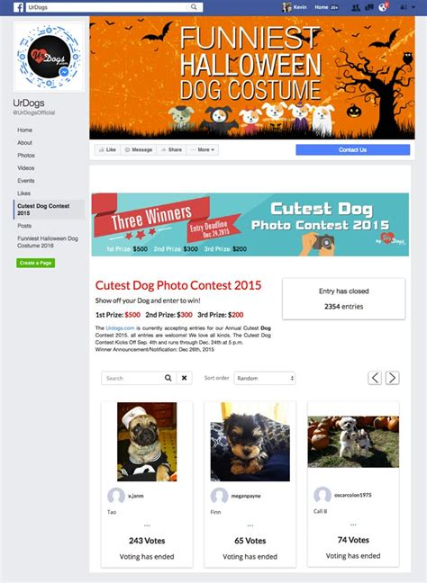 30 amazing exles of branded facebook contests done right