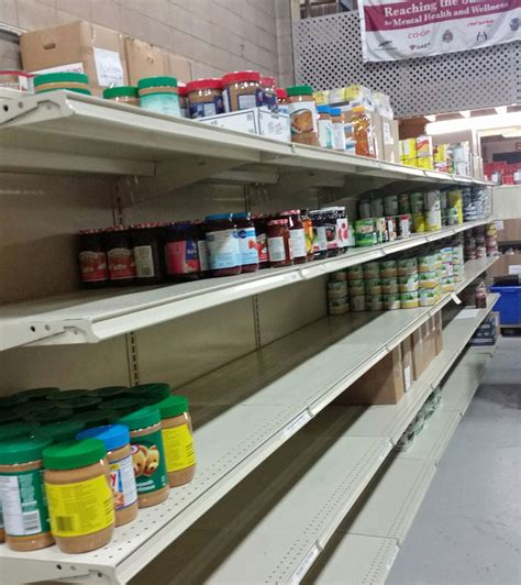 Fm Food Pantry by Shelves For The Veterans Food Bank Are Scarce Drumhelleronline