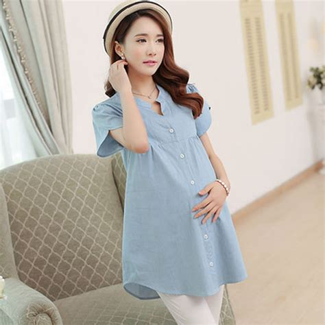 comfortable maternity clothes maternity clothes summer solid loose comfortable office
