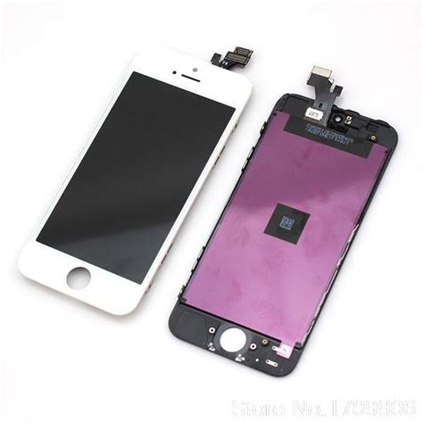 Lcd 1set Iphone 5g Original White top high quality 20 pcs lot black white for apple iphone 5 5g lcd display touch screen