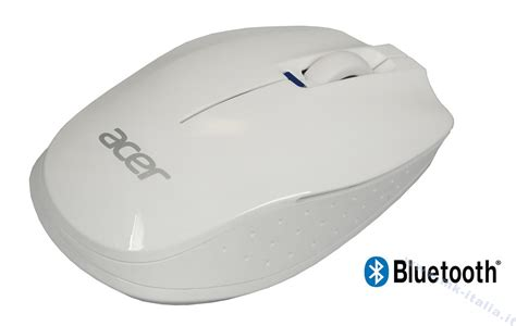 Mouse Acer Bluetooth nc 20711 004 acer bluetooth mouse white acer logo mk italy
