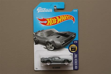 Wheels Charger The Fate Of The Furious Hw Screen Time wheels 2017 hw screen time dodge charger grey