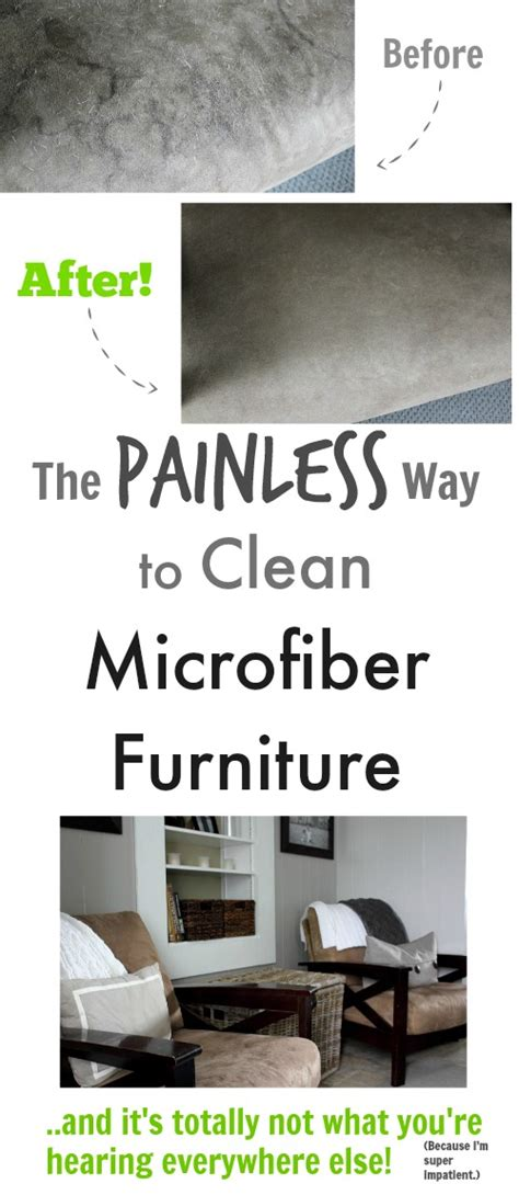easiest way to clean microfiber couch the painless way to clean microfiber furniture the