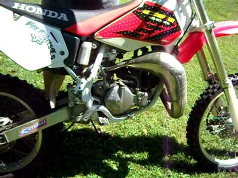 80cc motocross bikes for 1999 honda expert 80cc dirt bike youtube