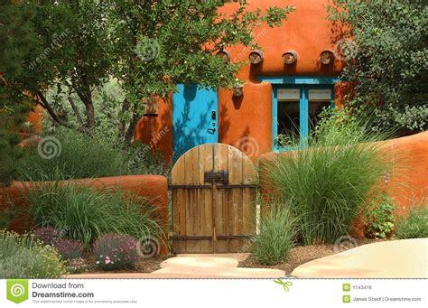 Z Garden Santa by Santa Fe Cottage Royalty Free Stock Image Image 1143416