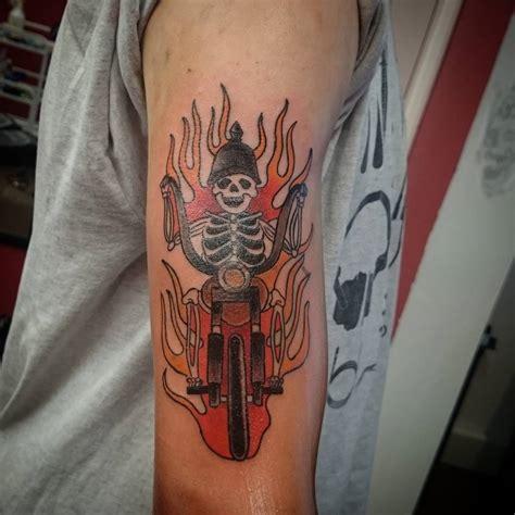 biker tattoo 85 best biker designs meanings for