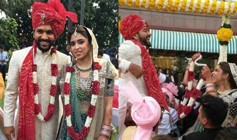 Rohit Sharma & Ritika Sajdeh wedding Album: See Pictures