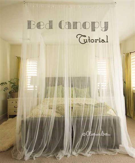 magical diy bed canopy ideas    sleep