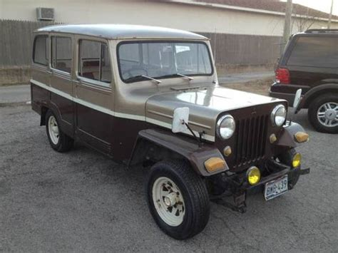 willys jeep truck 4 door 1966 mitsubishi willys 4x4 wagon bring a trailer