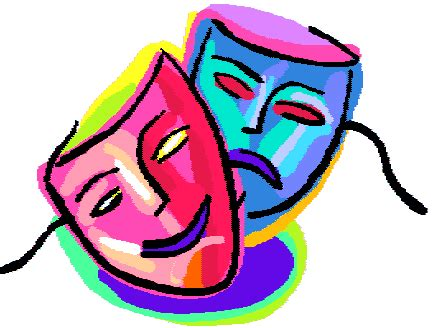 drawing kids of masks clipart best drama masks cliparts co