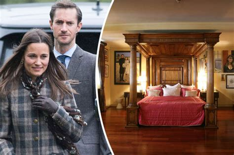 Four Poster Bed pippa middleton s sexed up marriage sneak peep at groom s