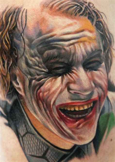 heath ledger joker tattoo designs pin by hdz on tat2 s d signs