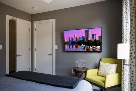 50 inch tv in small room guest bedroom pictures from hgtv smart home 2015 hgtv smart home 2015 hgtv