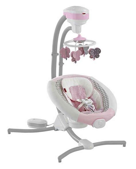 fisher price cradle n swing butterfly cmr43 sweet surroundings butterfly friends cradle n swing