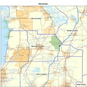 Hernando Florida Map by Hernando County Fl Map Florida Map Map Of Florida