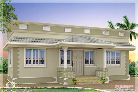 Kerala Single Floor House Plans With Photos by 1000 Sq Feet Kerala Style Single Floor 3 Bedroom Home