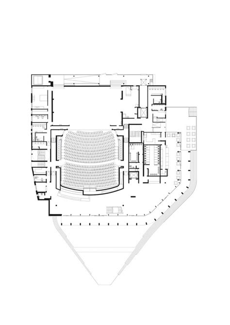 theater floor plan new marlowe theatre keith williams architects archdaily