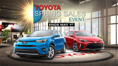 Toyota Sales Event Toyota Promotions White River Junction Vt