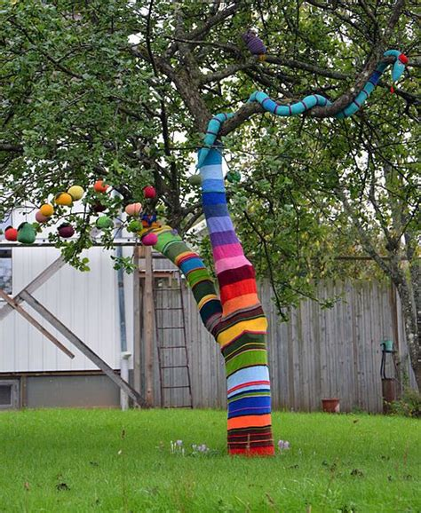 art house the collaboration 1614285365 graffiti knitting surprising with colorful recycled crafts and original designs yarn bombing