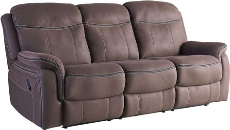 Brown Reclining Sofa Chion Brown Reclining Sofa From Standard Furniture Coleman Furniture