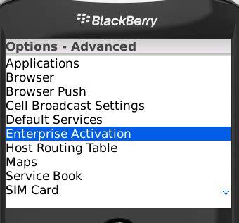reset blackberry enterprise blackberry clients vmail messaging services