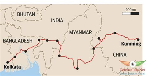 Fast Track Mba Programs In India by China India Fast Track Bcim Economic Corridor Project