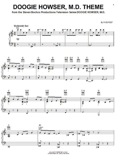 theme song quantum leap doogie howser m d theme sheet music direct