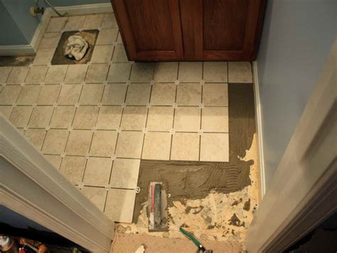 diy bathroom tile floor bathroom how to tile a bathroom floor diy ideas how to