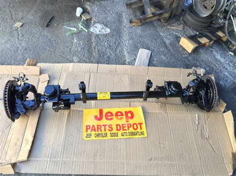 Jeep Wrangler Front Axle 2009 Jeep Wrangler Jk Front Axle I Beam 2 Wd Differential