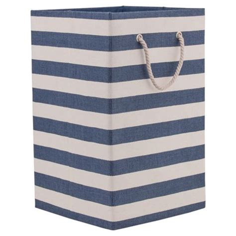 Buy Nautical Canvas Laundry Basket From Our Crates Boxes Nautical Laundry