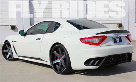 all white maserati fly rides maserati dreaming all white edition