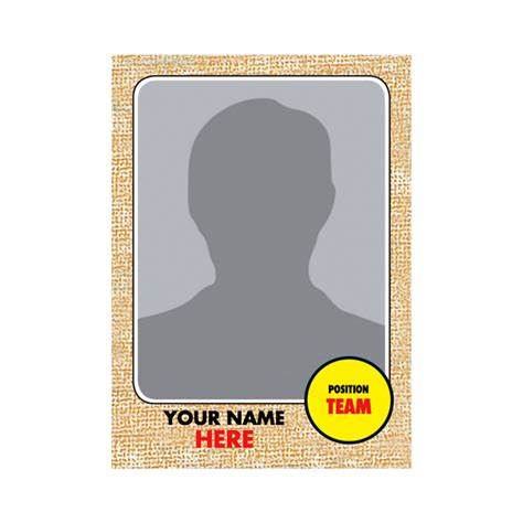 Sports Player Card Template by Customizable Trading Card 1968 Vintage Topps