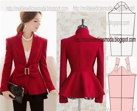 cute pattern blazers detalhes de modela 199 195 o 29 moldes moda por medida