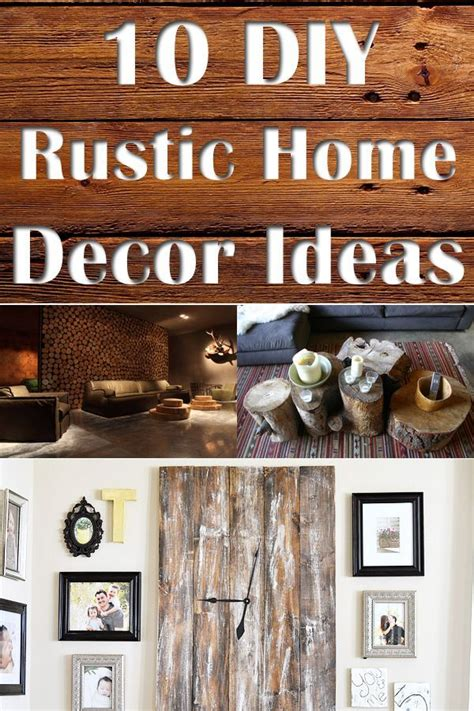 1000 images about diy home decor on rustic