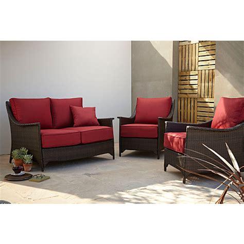 Asda Nursery Furniture Sets Sumatra 3 Conversation Sofa Set In Chilli Garden Furniture Asda Direct