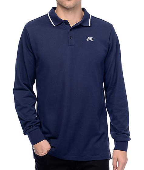 T Shirt Pdp nike sb obsidian sleeve polo t shirt at zumiez pdp