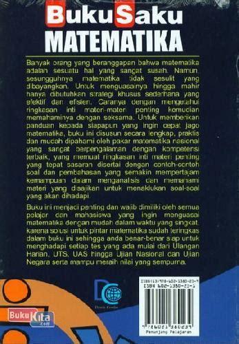 Pintar Bahasa Indonesia Lengkap Untuk Pelajar Mahasiswa Umum bukukita buku saku matematika untuk pelajar mahasiswa dan umum edisi terbaru terlengkap