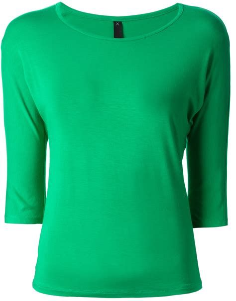 the kimono sleeve top green 187 labour of