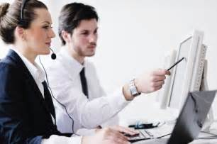 Office Help Business Working In Customer And Helpdesk