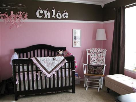 pink and brown baby room pink brown nursery on pinterest brown nursery celebrity
