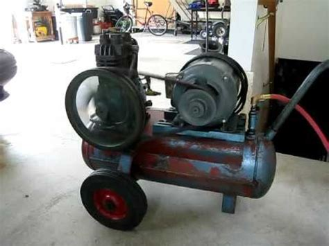 air compressor quincy model 210 1960 vintage