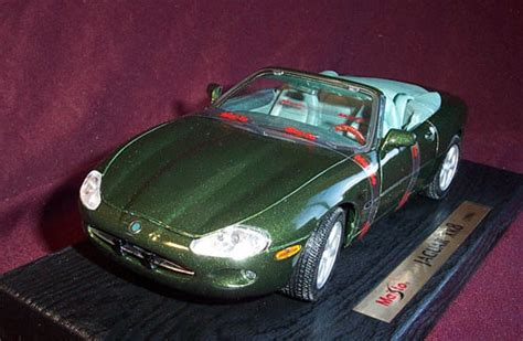 Jaguar Xk8 Coupe New Diecast Maisto 1996 jaguar xk8 european green maisto 1 18 diecast car scale model