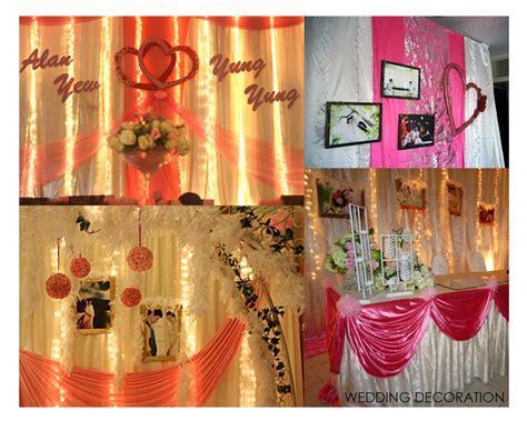 wedding decoration alor setar penang kedah   Zoomix Studio