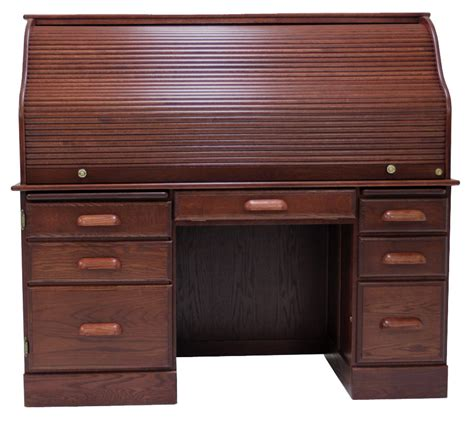 oak rolltop computer desk 60 quot w solid oak rolltop computer desk in cherry finish in