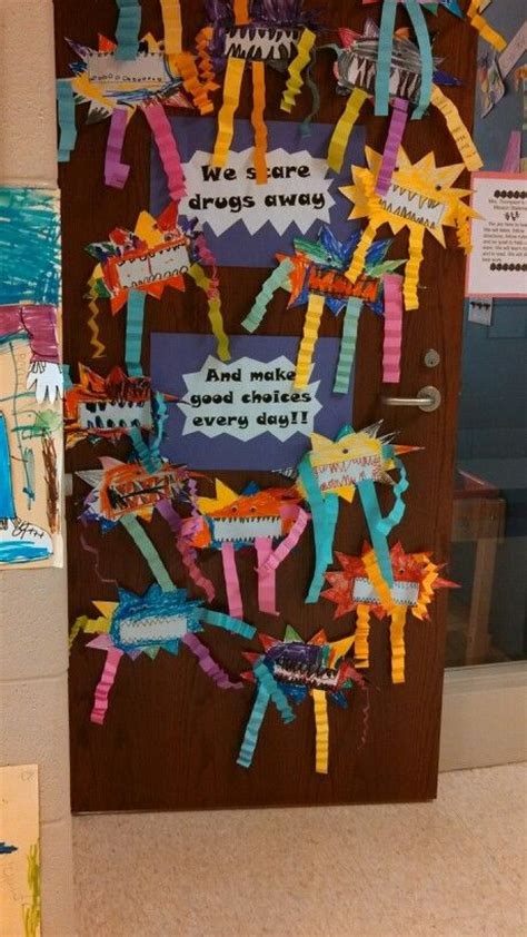 halloween themes for red ribbon week red ribbon week door decoration education that i love