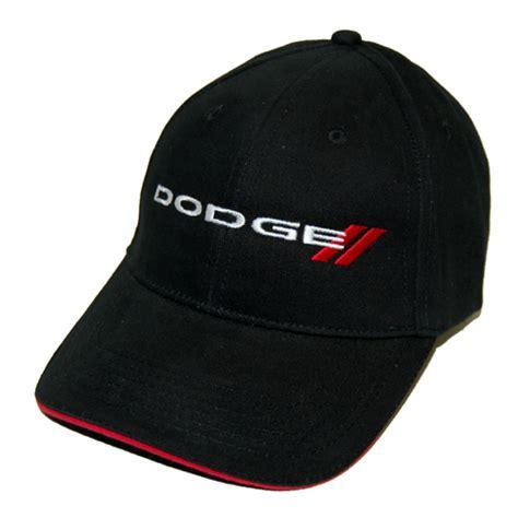 dodge hat dodge racing hat hash stripes logo black