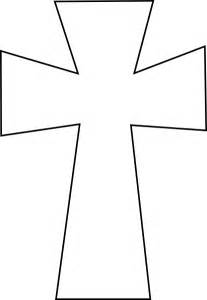 Cross Outline by Cross Outline Clip Cliparts Co