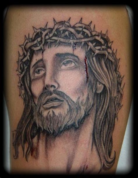 jesus tattoo cross religious tattoos boy