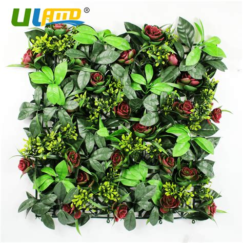 10pcs lot 60x40cm artificial boxwood hedges panels compare prices on indoor plastic fence shopping