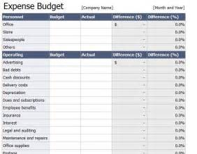 expense template for home expenses spreadsheet expense budget spreadsheet